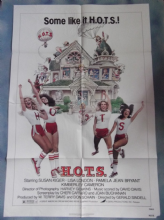HOTS, Movie Poster, Susan Kiger, Lisa London, College Sorority! '79